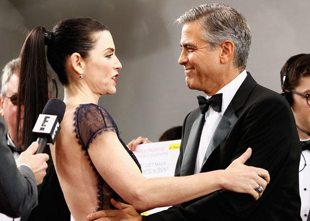 Julianna Margulies George Clooney