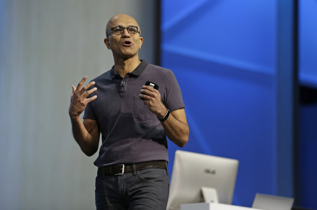 microsoft ceo satya nadella u0026 39 s latest report card had only