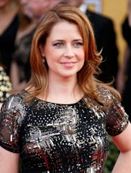 Jenna Fischer attends the 19th Annual Screen Actors Guild Awards at The Shrine Auditorium on January 27, 2013 -- Getty Images