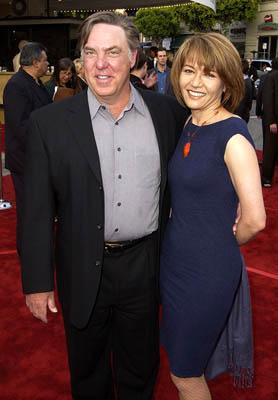 Premiere: Bruce McGill and wife at the LA premiere of Paramount's The Sum of All Fears - 5/29/2002