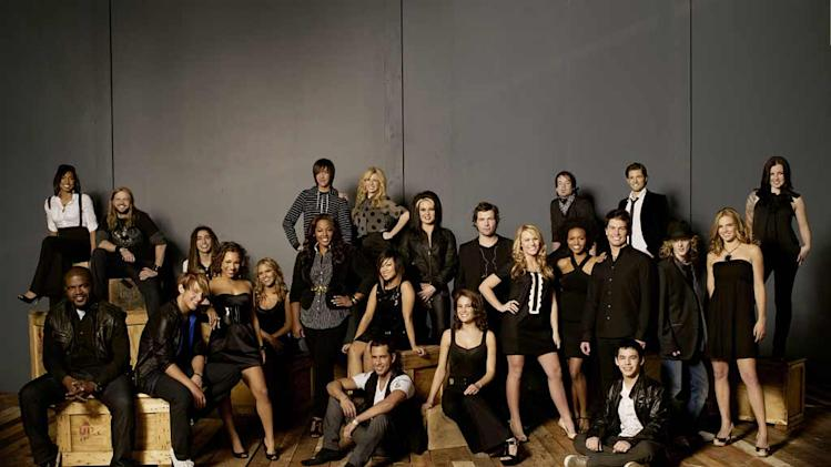 The top 24 contestants on Season 7 of  American Idol.