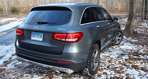 Polished mercedes benz glc300 suv makes strong impression for Mercedes benz finance canada