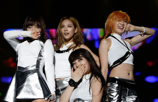 The up and coming miss A has just released a new mini album called Touch (Getty Images)