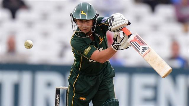 County - Sussex inflict defeat on Notts