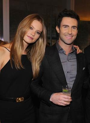 Adam Levine and Behati Prinsloo attend the 2012 GQ Gentlemen's Ball presented by LG, Movado, and Nautica on October 24, 2012 in New York City -- Getty Images