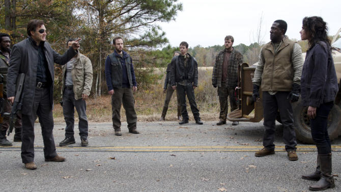 """""""The Walking Dead"""" -- """"Welcome to the Tombs"""""""