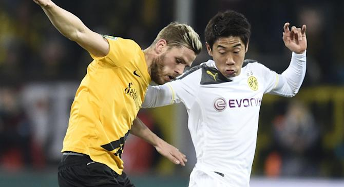Video: Dynamo Dresden vs Borussia Dortmund