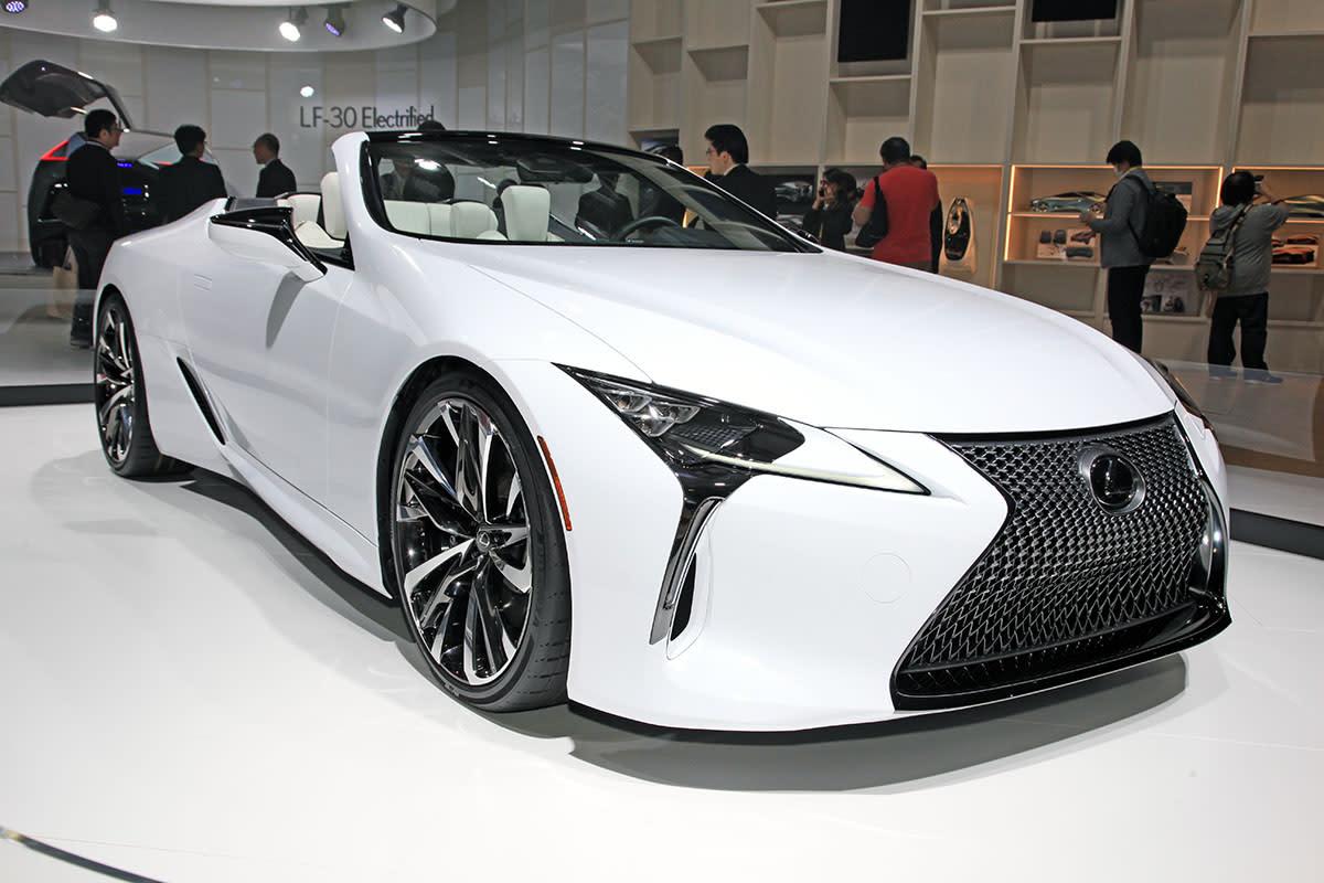【東京車展】品牌第三款敞篷車蓄勢待發,Lexus LC Convertible 準量產車亮相