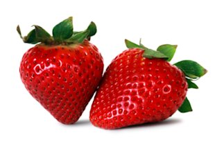 Enjoy the ruby red deliciousness of fresh strawberries.