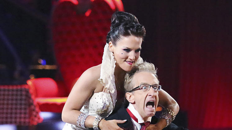 Sharna Burgess and Andy Dick (3/25/13)