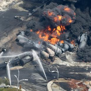 Scrutiny over crude-by-rail gathered steam in 2013