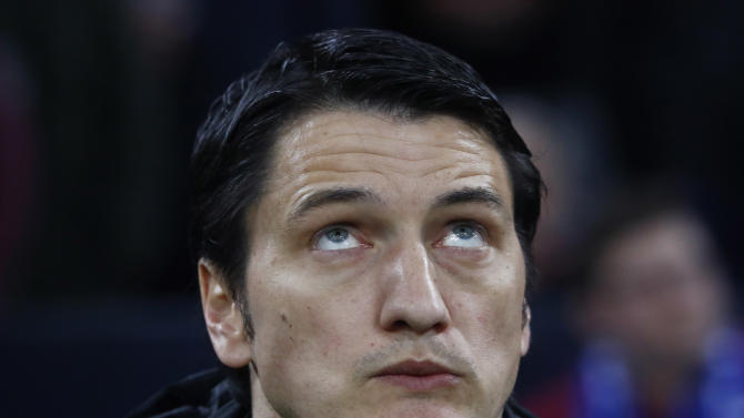 PAOK coach Vladimir Ivic before the match