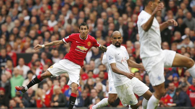 League soccer match against queens park rangers at old trafford in