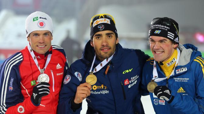 IBU Biathlon World Championships - Men's Distance
