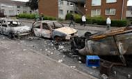 Police Injured In Northern Ireland Riots
