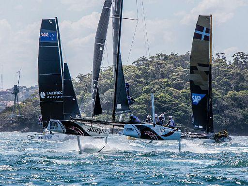 Due scuffie a Sydney per l'ultimo Act di Extreme Sailing Series