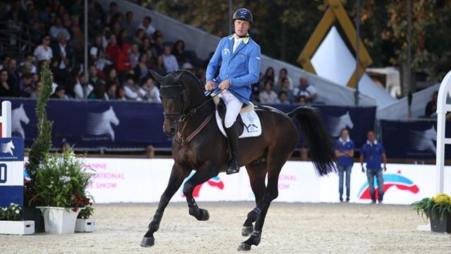 Equestrianism - Ahlmann puts past disappointments behind him