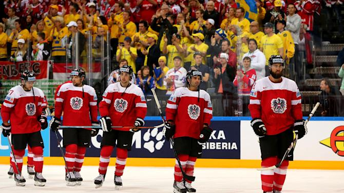 Austria v Sweden - 2015 IIHF Ice Hockey World Championship