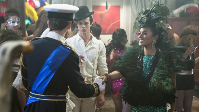 """""""The Carrie Diaries"""" -- """"Fright Night"""""""