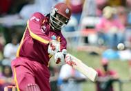 Star West Indian big-hitter Chris Gayle, pictured here on July 1, and Pakistani all-rounder Shahid Afridi have signed to play in Australia's domestic Twenty20 competition for the Sydney Thunder, the team said Monday