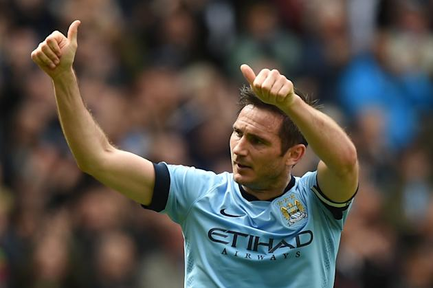 Frank Lampard, an iconic playmaker for English Premier League side Chelsea, trained fully with no limitations after an injury and is likely to be called off the bench this weekend for his new New York