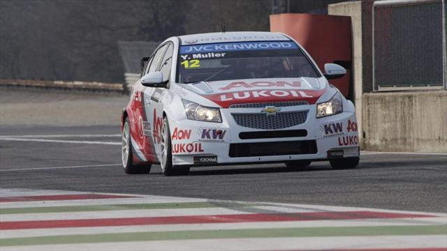 WTCC - Tarquini gives Honda first pole in Marrakech