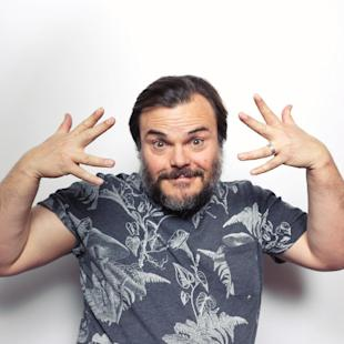 """FILE - In this Jan. 23, 2015 file photo, Jack Black poses for a portrait to promote his film, """"The D Train"""", at the Eddie Bauer Adventure House during the Sundance Film Festival  in Park City, Utah. (Photo by Victoria Will/Invision/AP, File)"""