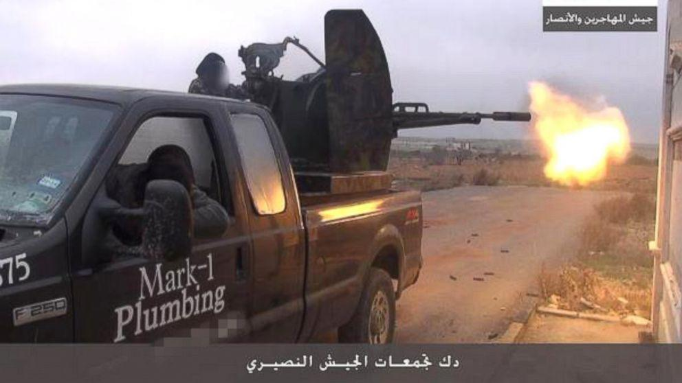 How a Texas Plumber's Truck Ended Up in a Syrian Islamist Video