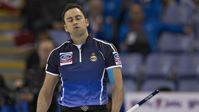 Curling - Murdoch defeated by defending champions Canada
