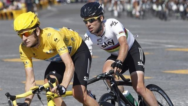 Cycling - Cavendish: I was a back-up rider at Team Sky