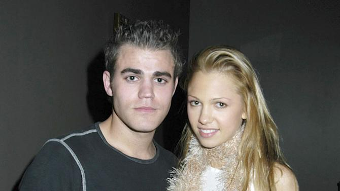 Paul Wesley and Marnette Patterson at the Art of Elysium Exhibition of Paintings by Thom Bierdz Hosted By Scarlett Johansson in Hawthorne, California on November 13, 2004.
