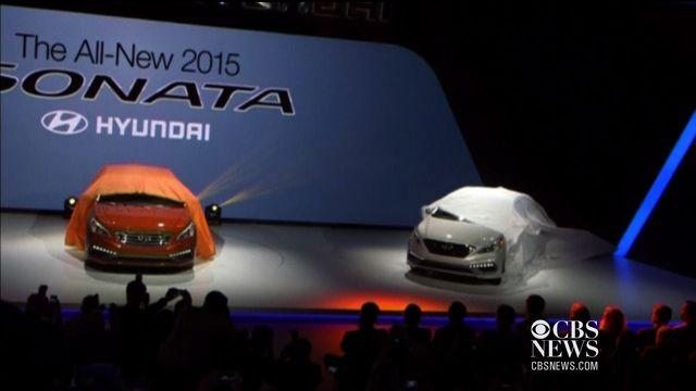 Latest technology revealed at Auto Show