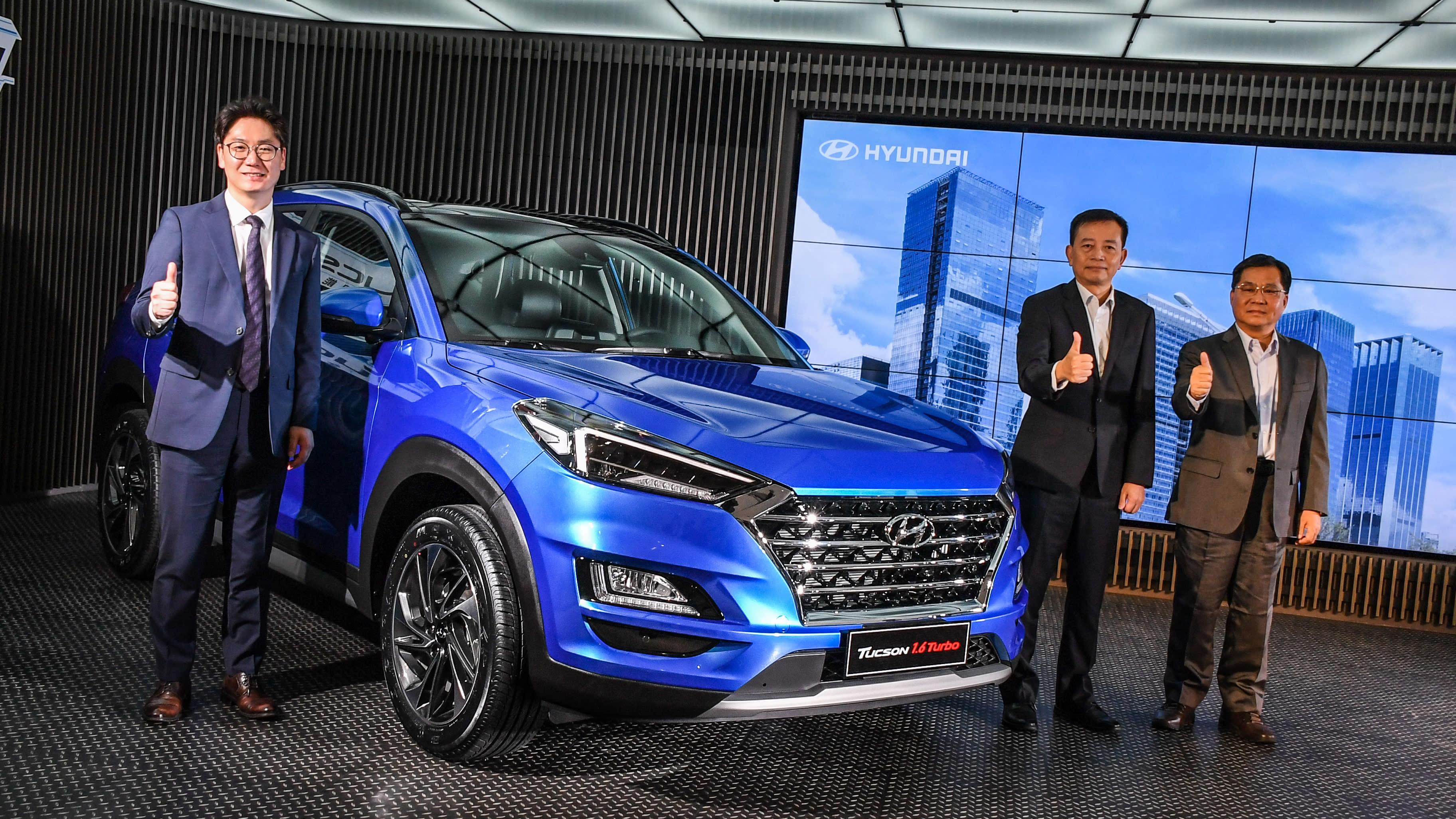超有感小改款!Hyundai Tucson 補足安全科技