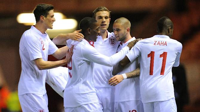 England Under-21s will face Serbia in the UEFA European Championship play-offs