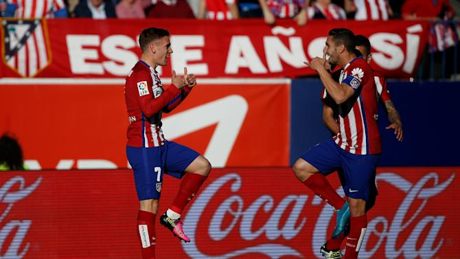 Football Soccer - Spanish Liga BBVA - Atletico Madrid v Rayo Vallecano