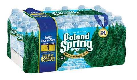 Poland Spring® Brand Natural Spring Water Donates $250,000 in Continued Support of One Fund Boston