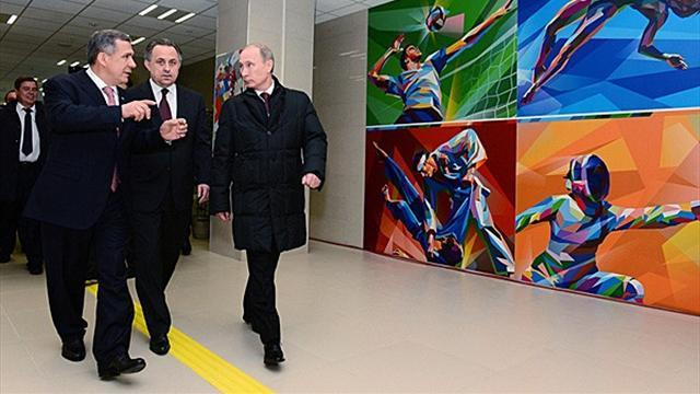 Summer Universiade  - Putin: Preparations going smoothly