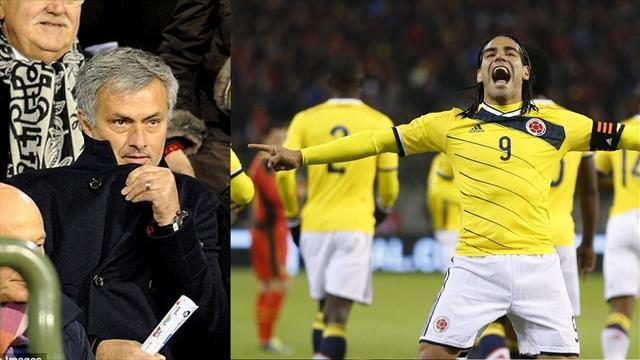 Ligue 1 - Mourinho on Falcao: 'I have no striker, and he has no team'