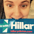 Lena Dunham Totally Bites It for Hillary Clinton (Photo)