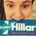 Lena Dunham Totally Bites It for Hillary Clinton (Photo)