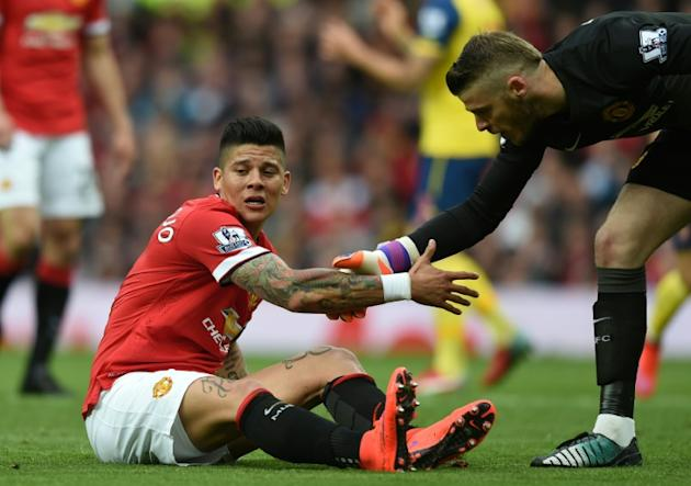 Manchester United could have defender Marcos Rojo in their squad for the first time this season after he played for an hour in a mid-week friendly against Ajax