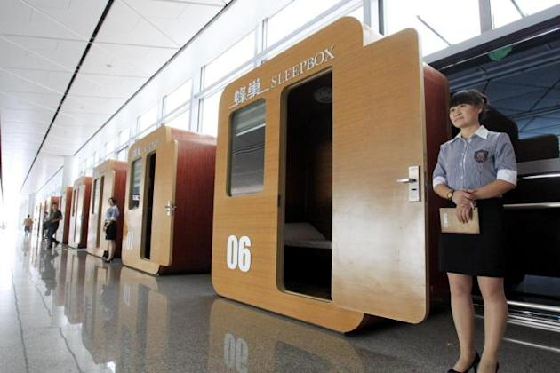 Cina, 'Sleep Box' una scatola per dormire in aeroporto