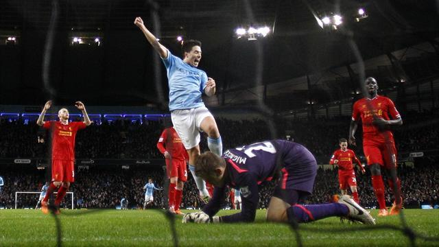 Premier League - Mignolet howler helps Manchester City beat Liverpool