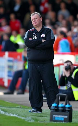 Steve Evans has expressed his disappointment at losing Mark Bradley to injury