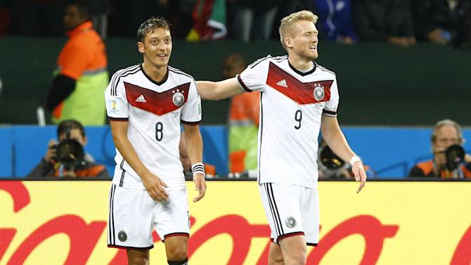 World Cup - Germany deny heroic Algeria in extra-time