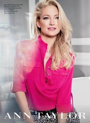 Kate Hudson for Ann Taylor -- Ann Taylor