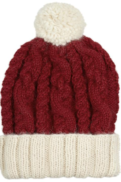 Snow style: Stay warm and cosy in this Eugenia Kim bobble hat