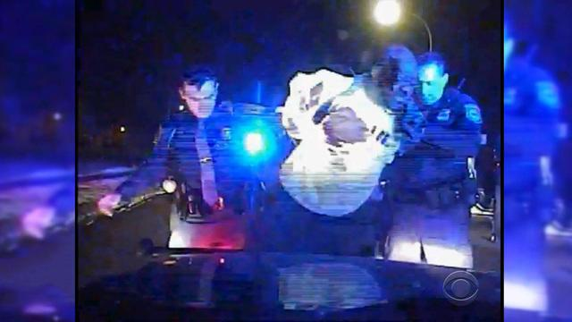 Video shows motorist pulled from car, beaten by officers
