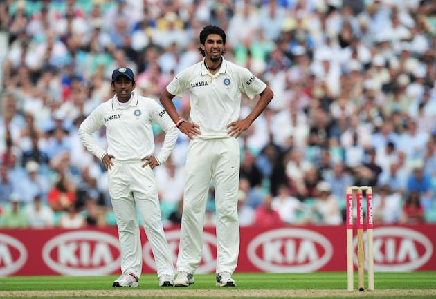 England v India: 4th npower Test - Day Two