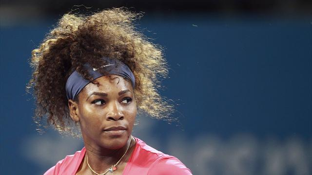 Tennis - Serena aims for sixth title at Melbourne Park